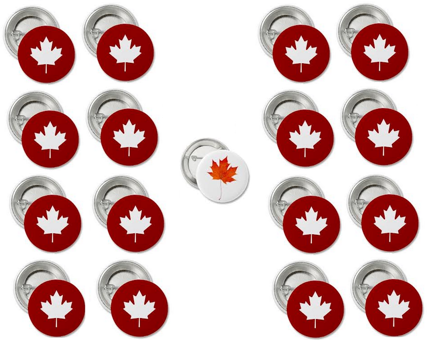canadian pins, canadian buttons, pin-back buttons, pinback buttons