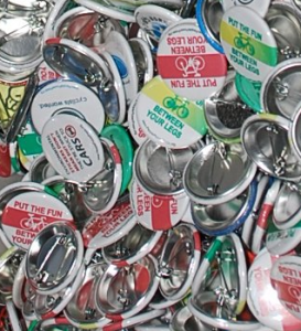 carfree pins, bicycle pins