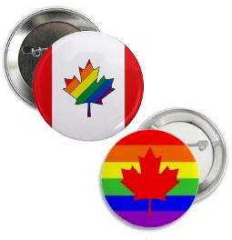 pride, pin-back buttons, pinback buttons, lgbt pride buttons, canadian pride