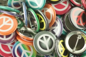 peace pins, peace pin-back button, peace button