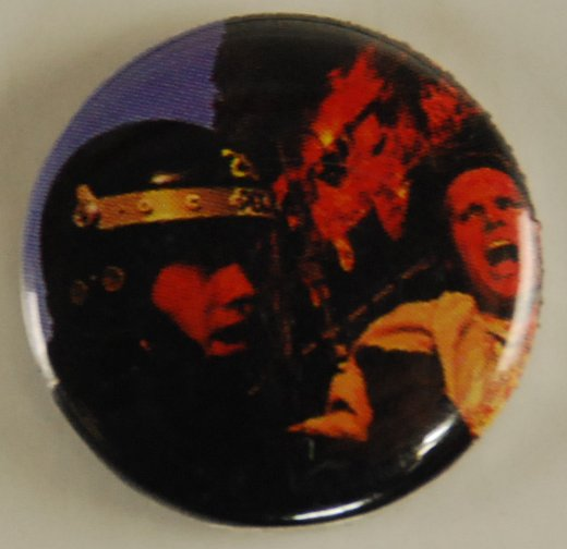 photo button, police brutality, pin-back button