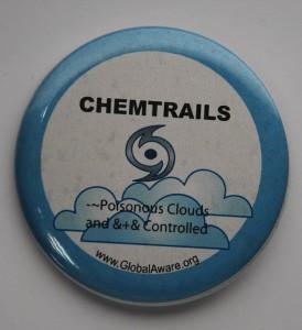chemtrail button, environmental button