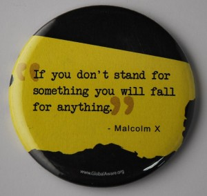 quote button, malcom x button