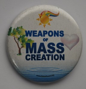 environmental button, weapons of mass creation