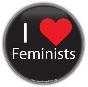 womens rights button, feminist button, feminism button, love button, heart button