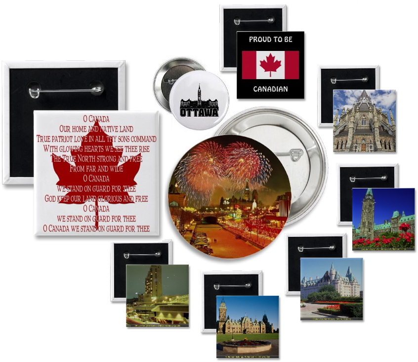 Ottawa Buttons | Canadian Button Makers